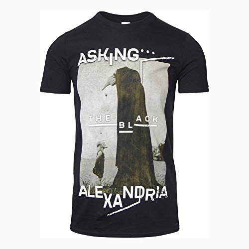 T Shirt The Black Org Asking Alexandria (Nero) - Medium