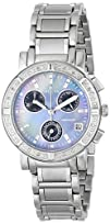 Invicta Womens 0610 Wildflower Collection Diamond Chronograph