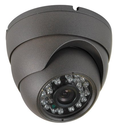 High Resolution Weatherproof Turret Dome Camera (700Tvl)