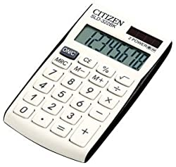Citizen Pocket SLD 322BK Calculator