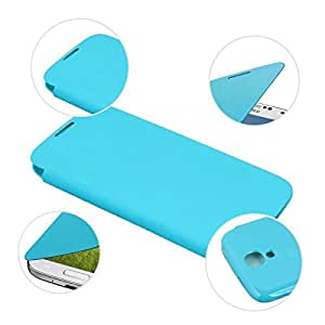 Sky blueFlip Case Front Cover Battery Case for Samsung Galaxy S4 SIV i9500