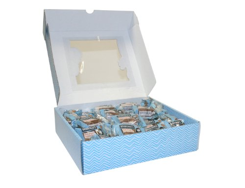 Brodericks Cakes Handmade Chocolate Covered Mixed Mini Bite Selection of Individually Wrapped Cakes 30 x 22 g
