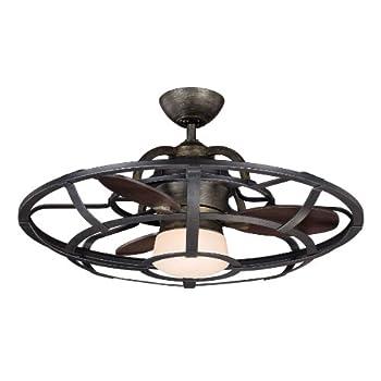 """Savoy House 26-9536-FD-196 Alsace Fan D'lier 26"""" Ceiling Fan, Recalimed Wood"""