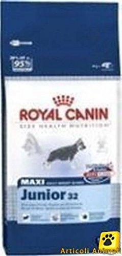 Crocchette cane royal maxi junior 32 kg 4