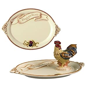 Amazon.com: Grasslands Road Cucina Appetizer Tray with