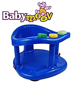 Babymoov Fun Bath Ring Seat DARK Blue Color Tub Bathtub NewBorn New Born Children Kid Infant Safety Chair