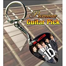 Printed Picks Company 5055287683656 One Direction Premium Guitar Pick Keyring