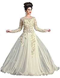 Jinkaar The Landmark Women's Dress (Jtl- Ag09_White_Free Size)