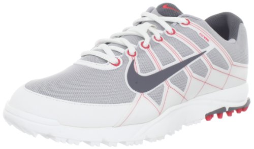 Nike Golf Men'S Nike Air Range Wp Ii Golf Shoe,Wolf Grey/White/Hyper Red/Dark Grey,12 M Us