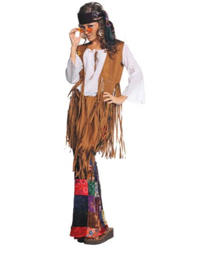 Peace Out Womens Md Adult Womens Costume - Underwraps