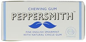 Peppersmith 100% Xylitol Chewing Gum, Fine English Spearmint, 10 Pellets 15 g (Pack of 12, Total 120 Pellets)