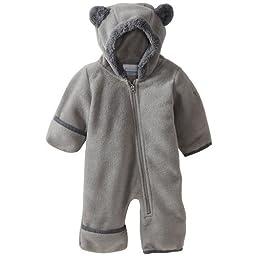 Columbia Baby Tiny Bear II Bunting, Tradewinds Grey, 3-6 Months