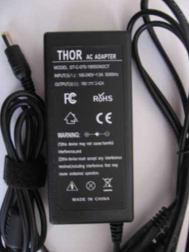 Thor Kind Replacement Ac Power Adapter Cord for Acer Aspire Laptop Computer Pc Bl51 Ick70 Icl50 Icw50 Icy70 Jal90 Jala0 Jala1 Jalb0 Jaq10 Jat10 Jawd0 Jdw50 Kal90
