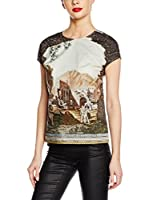 Dolce & Gabbana Blusa (Marrón / Multicolor)