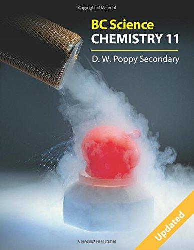 Bc Science Chemistry 11: D. W. Poppy Secondary