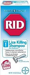 RID Shampoo 8-Ounce