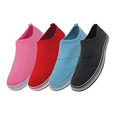 wholesale womens solid color aqua socks size 611 black