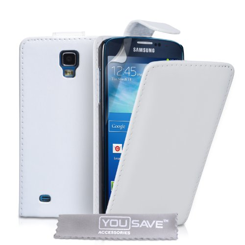 yousave-accessories-funda-con-tapa-para-samsung-galaxy-s4-active-piel-sintetica-color-blanco