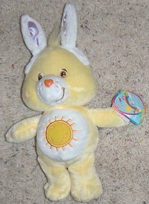 "Cheer Bear 8"" 2009 Easter Plush"