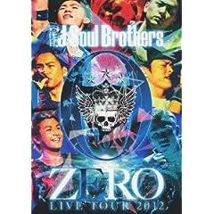 �O���J Soul Brothers LIVE TOUR 2012 �u0~ZERO~�v (2���gDVD)