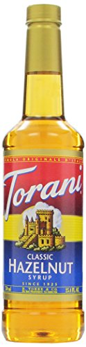Torani Syrup, Classic Hazelnut, 25.4 Ounce (Pack Of 4)