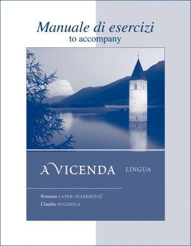 Workbook/Laboratory Manual Manuale di esercizi to...