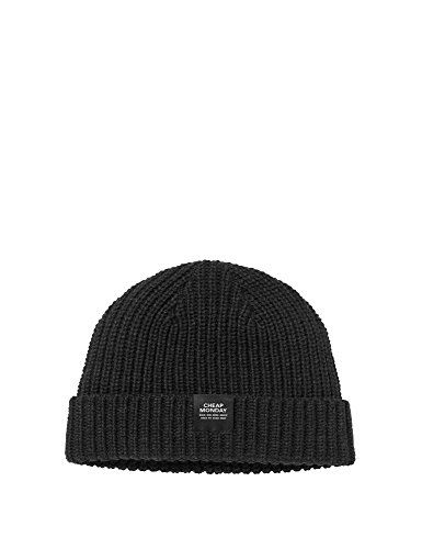 cheap-monday-mens-skull-beanie-mens-knit-beanie-in-black-in-size-one-size-black