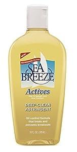 Sea Breeze Actives Deep Clean Astringent -- 10 fl oz