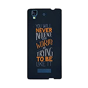 Skintice Designer Back Cover with direct 3D sublimation printing for Micromax Yu Yureka
