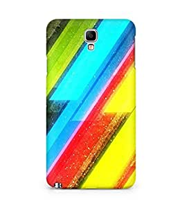 Amez designer printed 3d premium high quality back case cover for Samsung Galaxy Note 3 Neo (Wonderful Pattern)