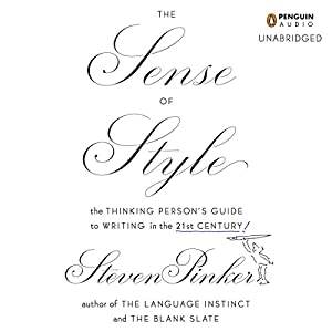 The Sense of Style Hörbuch