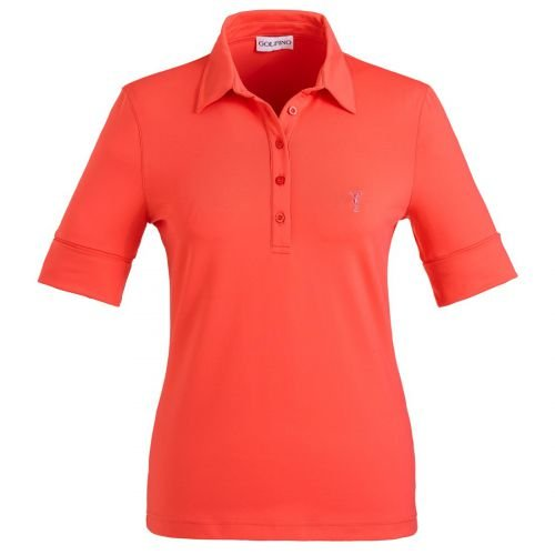 golfino-manches-courtes-polo-femme-avec-protection-solaire-papaya-organge-taille-34