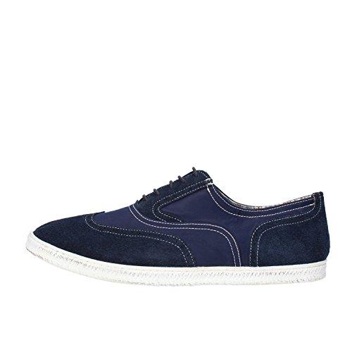 DOCKSTEPS sneakers uomo blu / grigio camoscio tessuto (45 EU, Blu)