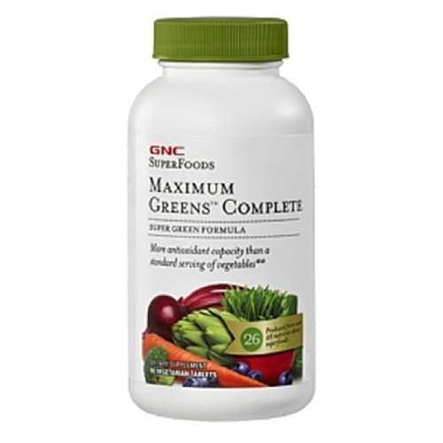 GNC Maximum Greens Complete Tablet, 90 Count一站式海淘,海淘花专业海外代购网站--进口 海淘 正品 转运 价格
