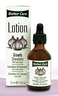 Bio Hair Care Lotion Growth Stimulator with Garlic Extract