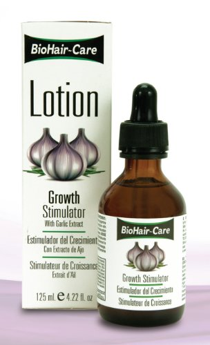 Bio Hair Care Lotion Growth Stimulator With Garlic Extract