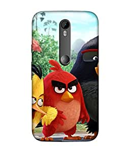 small candy 3D Printed Back Cover For Motorola Moto G Turbo / Moto G3 -Multicolor cartoon