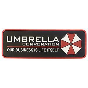 Umbrella Corporation Resident Evil Cosplay PVC Gomme 3D Velcro Écusson Patch
