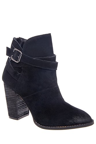 Zip It Mid Heel Bootie