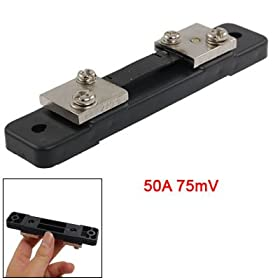 50A 75mV DC Current Measure Divider Shunt for AMP Meter
