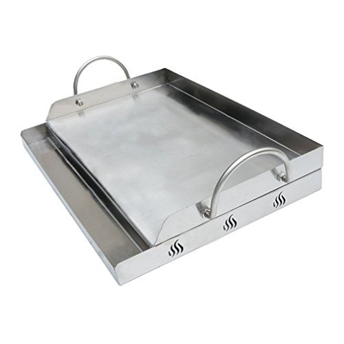 Onlyfire Universal Stainless Steel Griddle for BBQ Grills with Removable Handles Replaces SQ180 (Dripping Pan For Electric Stove compare prices)