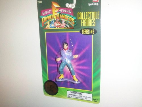 "1994 Mighty Morphin Power Rangers 3"" Collectible Figures Series #2- Eugene ""Skull"" Skullovitch"