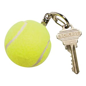 Buy Gamma Tennis Ball Keychain without Logo, Yellow by Gamma