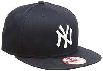 New Era - Casquette de 'New York Yankees' MLB 9Fifty - MLB 9FIFTY NEYYAN - Taille S/M - Couleur Noir et blanc