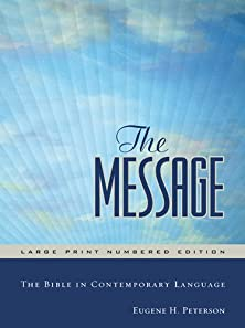The Message Large Print, Large Print Edition