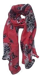 Lotusa printed scarf