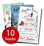 Agatha Raisin Collection (Day the Floods Came, Curious Curate, There Goes the Bride, Kissing Christmas Goodbye, Deadly Dance , A Spoonful of Poison, Perfect Paragon, Haunted House, Love, Lies and Liquor, Love from Hell). MC Beaton. RRP £69.90 M.C. Beaton