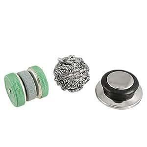 Amazon.com - Cocina de accesorios de alambre de acero de limpieza de