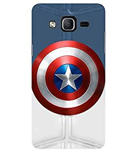 Evaluze SHIELD Printed Back Cover for SAMSUNG GALAXY ON7 PRO 2016