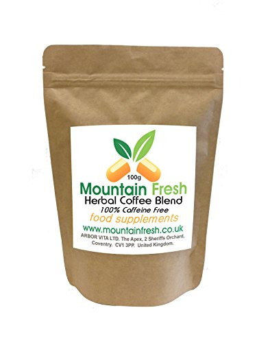 Chicory Root Herbal Coffee Cichorium Intybus 100% Caffeine Free - 100G